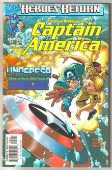 Captain America Heroes Return #2 comic book mint 9.8
