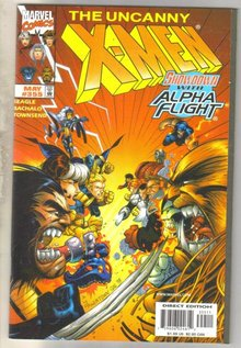 Uncanny X-men #355 comic book mint 9.8