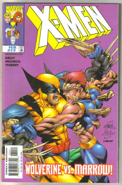 X-men #72 comic book mint 9.8