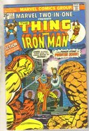Marvel Two-In-One #12 comic book very good 4.0