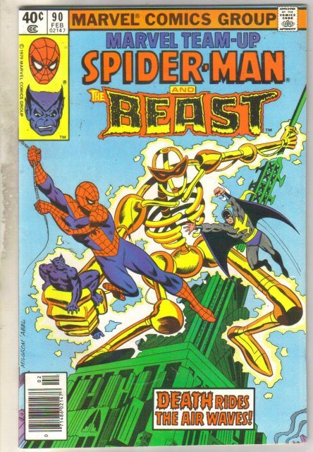 Marvel Team-up #90 comic book very fine 8.0