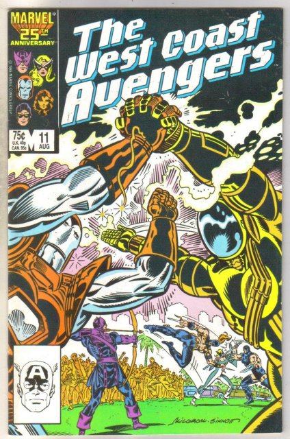 West Coast Avengers #11 comic book near mint 9.4