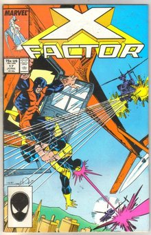 X-factor #17 comic book near mint 9.4