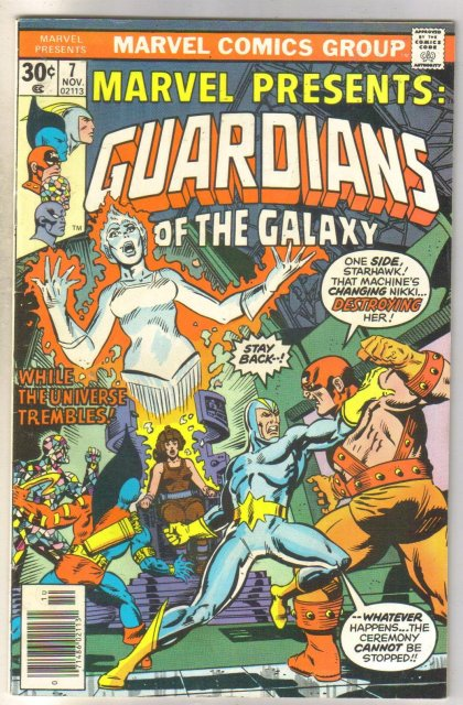 Marvel Presents Guardians of the Galaxy #7 comic book very fine 8.0
