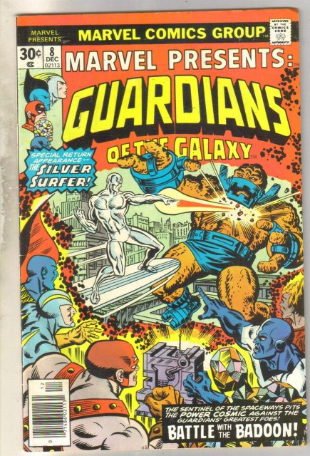 Marvel Presents Guardians of the Galaxy #8 comic book fine 6.0