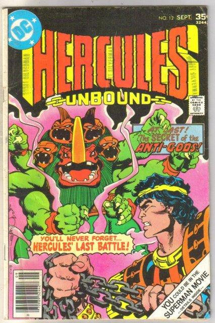 Hercules Unbound #12 comic book