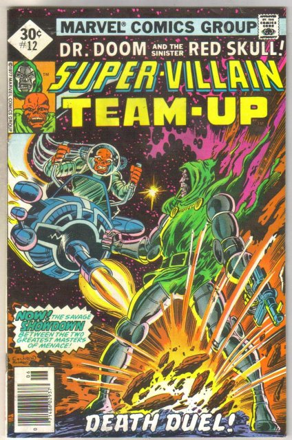 Super-Villain Team-up #12 comic book