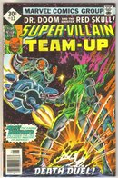Super-Villain Team-up #12 comic book
