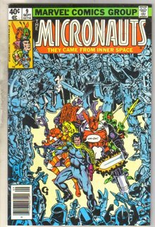 Micronauts #9 comic book near mint 9.4