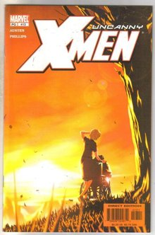 Uncanny X-men #413 comic book near mint 9.4