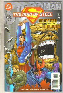 Superman The Man of Steel #130 comic book mint 9.8