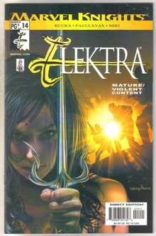 Elektra #14 comic book mint 9.8