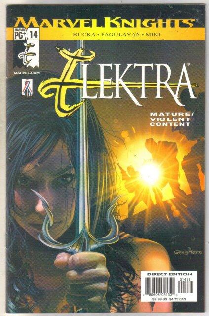 Elektra #14 comic book mint 9.8