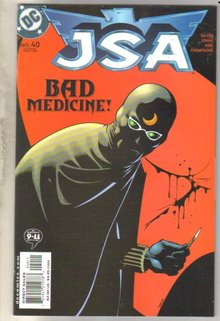 JSA #40 comic book mint 9.8
