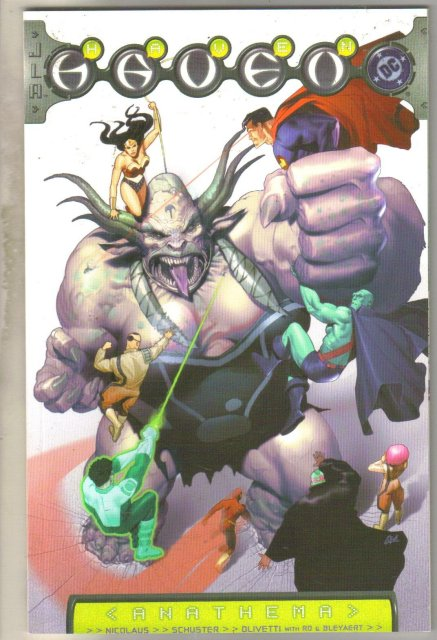 JLA/Haven: Anathema comic book mint 9.8
