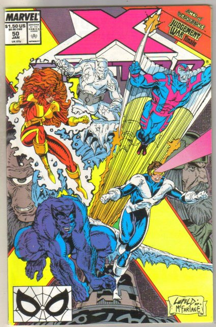 X-factor #50 comic book mint 9.8