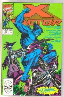 X-factor #57 comic book near mint 9.4