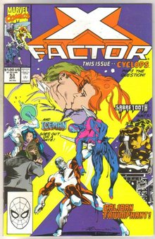 X-factor #53 comic book near mint 9.4