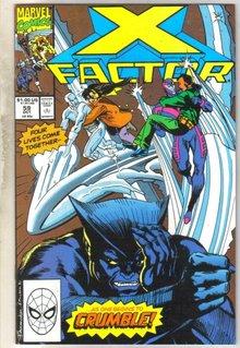 X-factor #59 comic book near mint 9.4