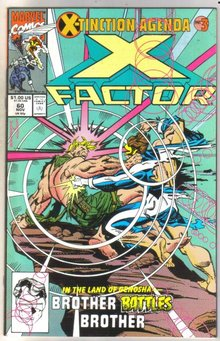 X-factor #60 comic book near mint 9.4