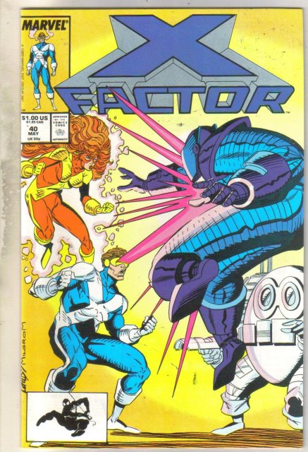X-factor #40 comic book near mint 9.4