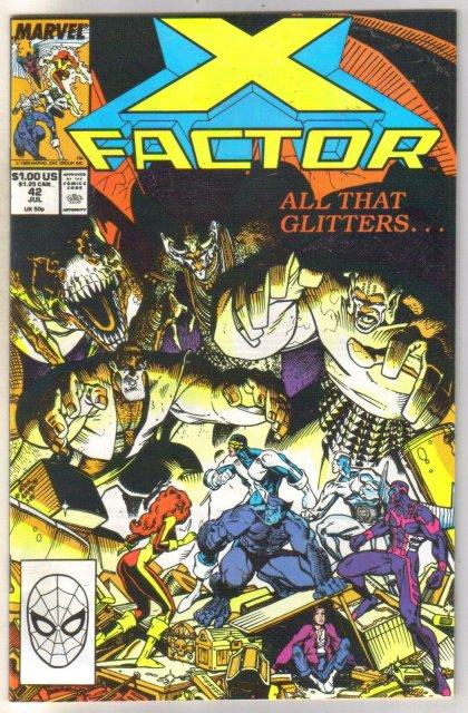 X-factor #42 comic book near mint 9.4