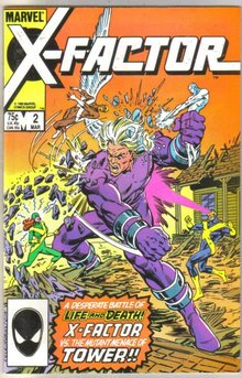 X-factor #2 comic book mint 9.8