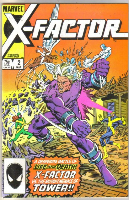X-factor #2 comic book mint 9.8