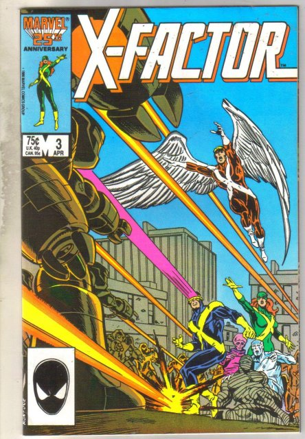 X-factor #3 comic book near mint 9.4