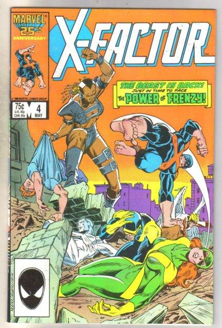 X-factor #4 comic book near mint 9.4