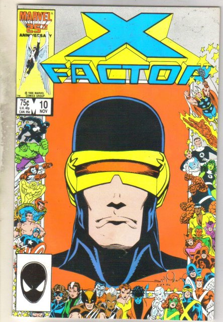 X-factor #10 comic book near mint 9.4