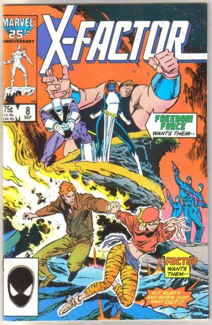 X-factor #8 comic book near mint 9.4