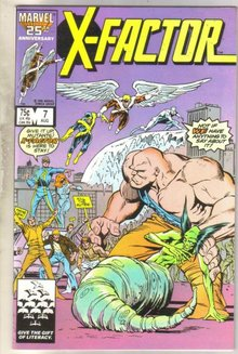 X-factor #7 comic book near mint 9.4
