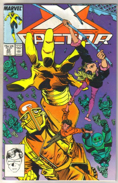 X-factor #22 comic book near mint 9.4