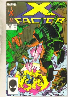 X-factor #21 comic book near mint 9.4