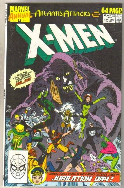 X-men Annual #13 comic book mint 9.8