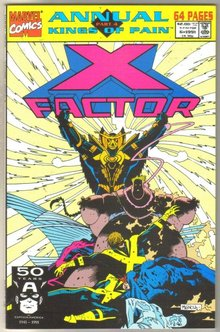 X-factor Annual #6 comic book mint 9.8