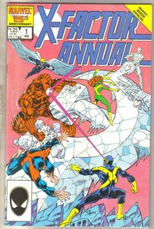 X-factor Annual #1 comic book mint 9.8