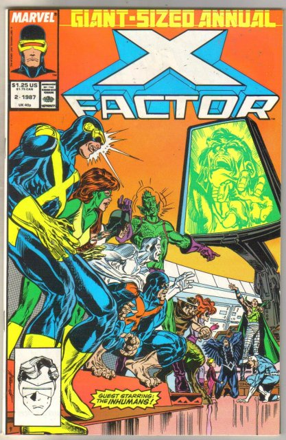 X-factor Annual #2 comic book mint 9.8