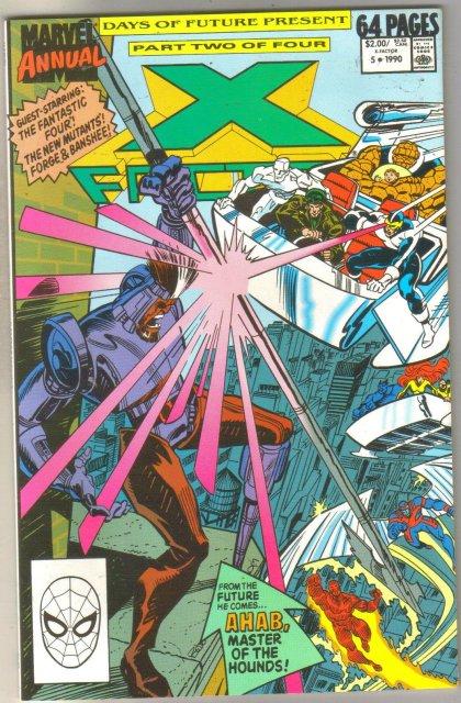 X-factor Annual #5 comic book mint 9.8