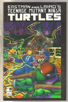 Teenage Mutant Ninja Turtles #9 comic book mint 9.8