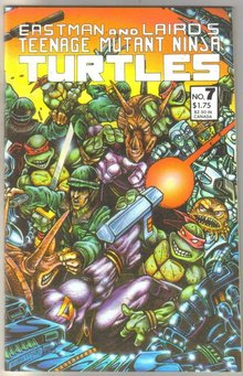 Teenage Mutant Ninja Turtles #7 comic book near mint 9.4