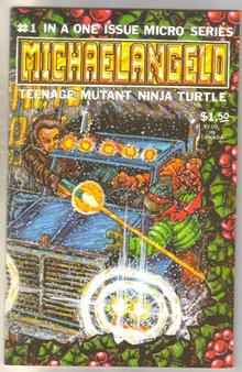 Michaelangelo #1 comic book mint 9.8