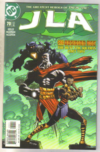 JLA #70 comic book mint 9.8