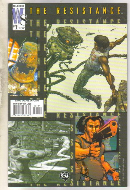 The Resistance #1 comic book mint 9.8