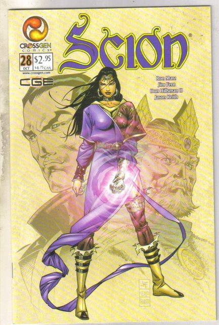 Scion #28 comic book mint 9.8