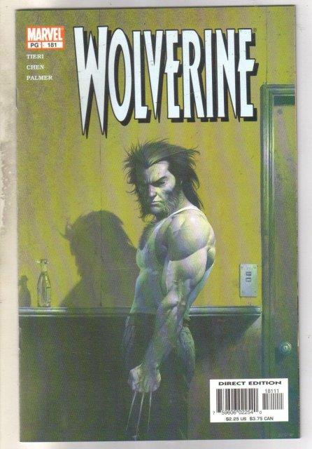 Wolverine #181 comic book mint 9.8
