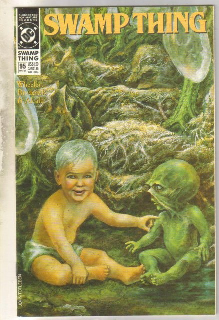Swamp Thing #95 comic book mint 9.8