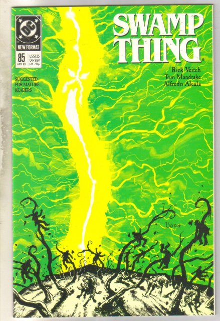 Swamp Thing #85 comic book mint 9.8