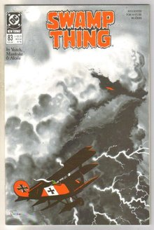 Swamp Thing #83 comic book mint 9.8